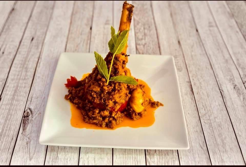 31. indian food at vantage indian restaurant  LU6