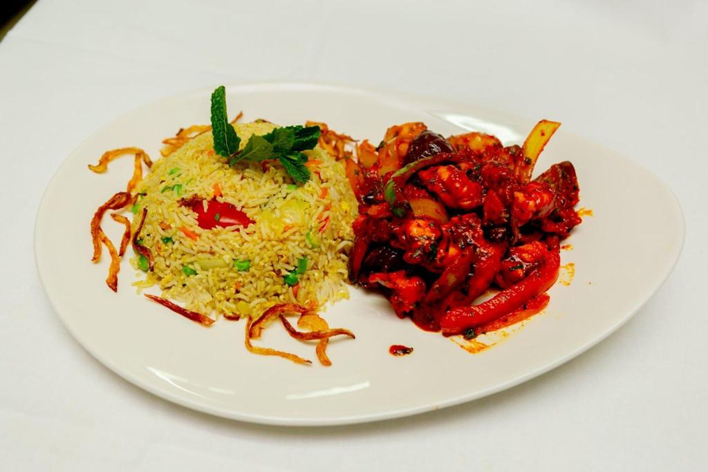 23. indian food at vantage indian restaurant  LU6