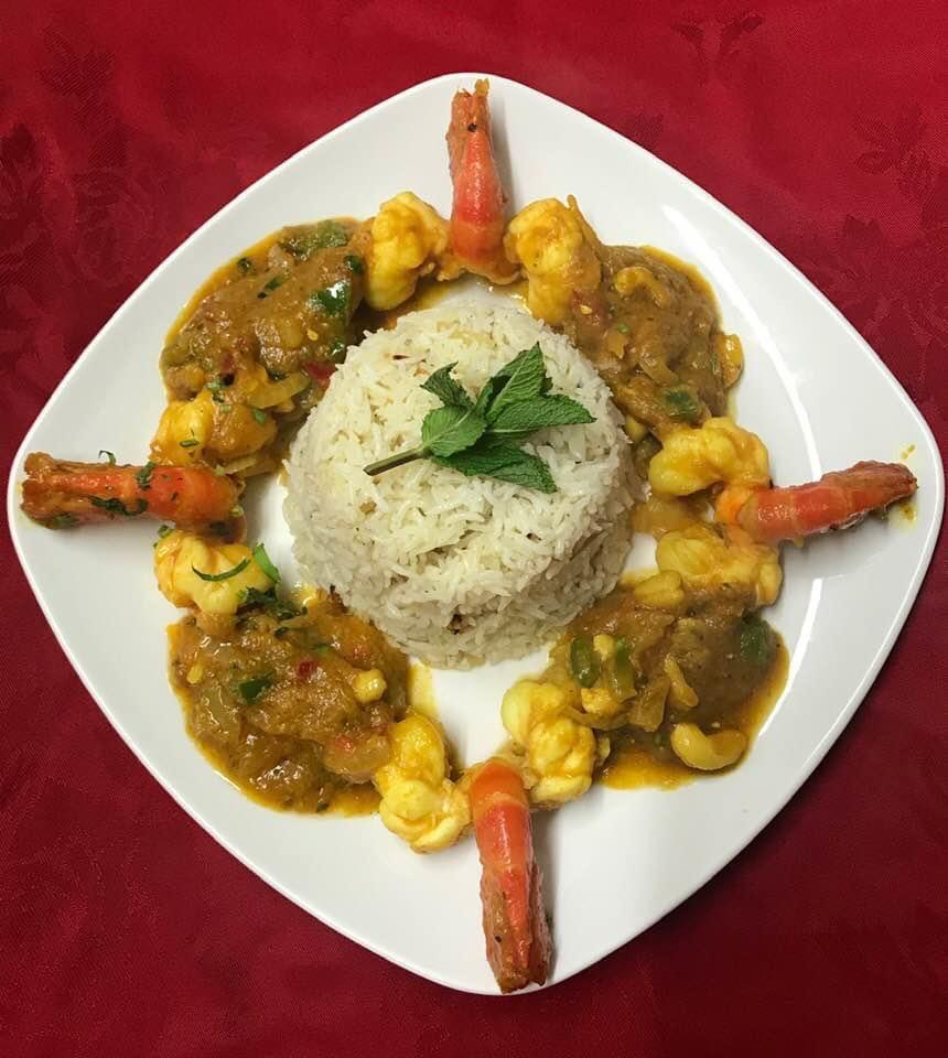12. indian food at vantage indian restaurant  LU6
