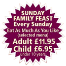 Enjoy our Special Sunday Buffet