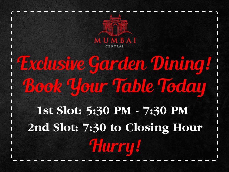 Book your table today