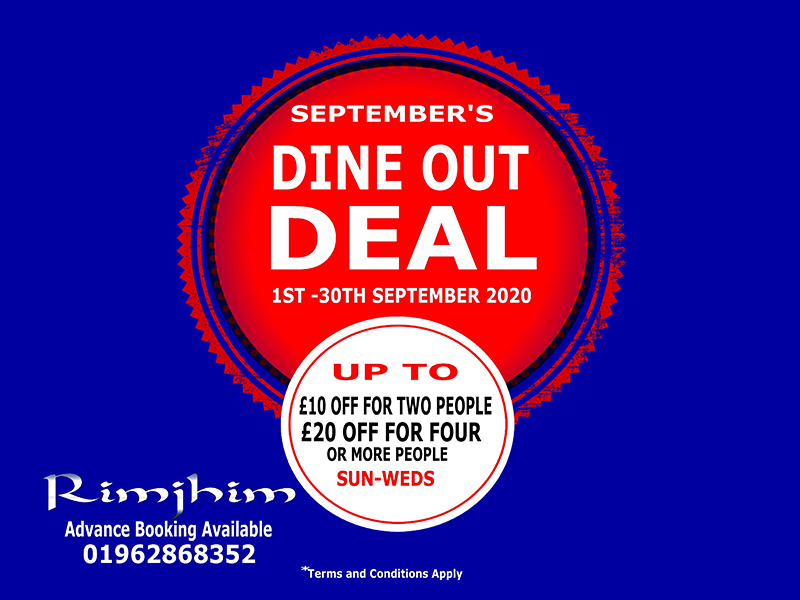 Dine out deal