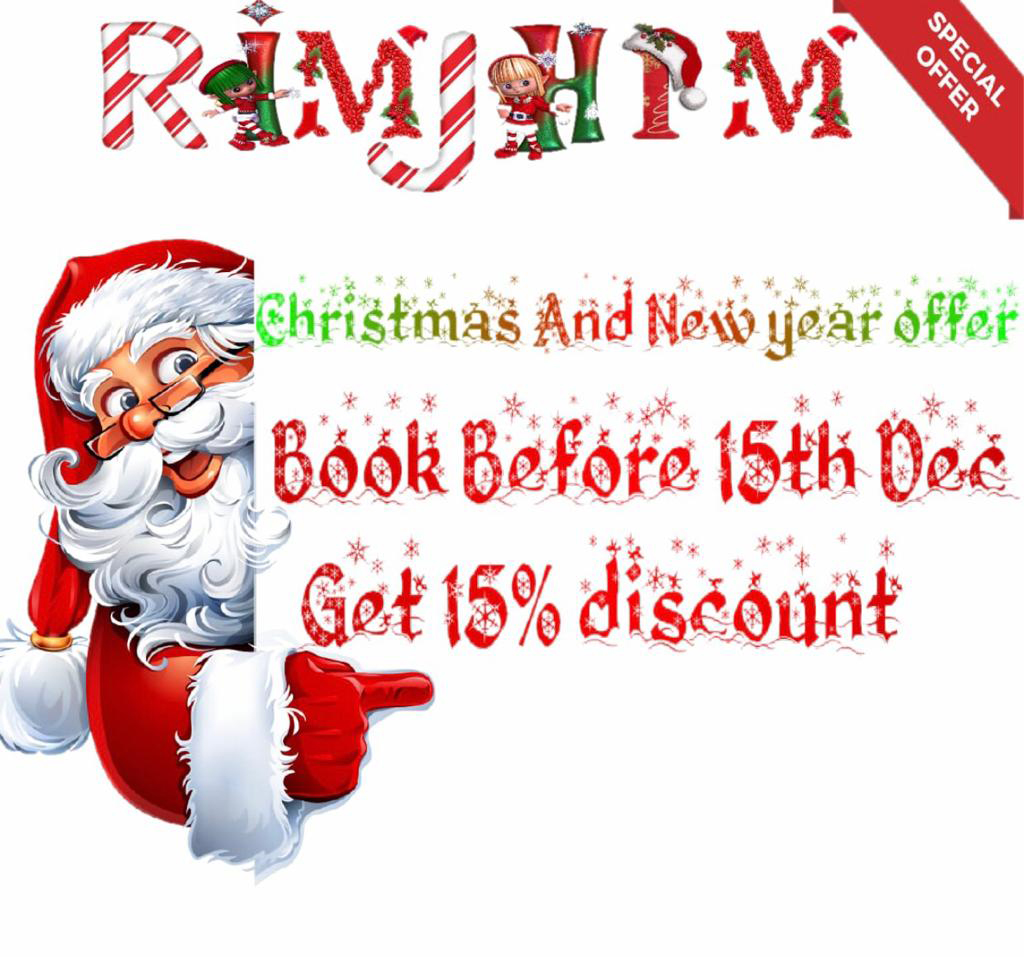 Xmas and New year offer