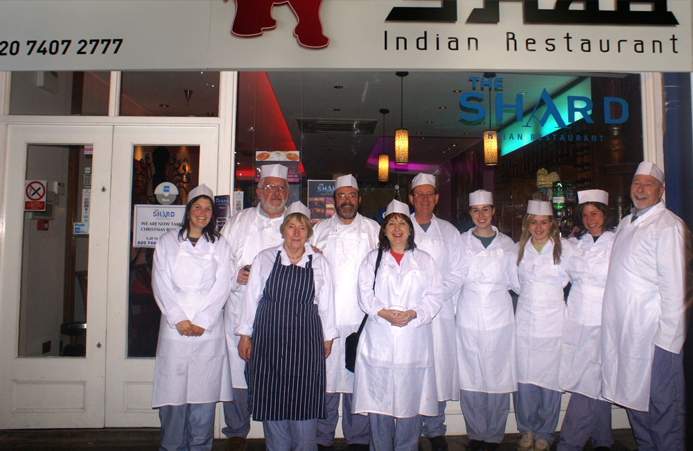 24. Takeaway chef Shad Indian Restaurant SE1