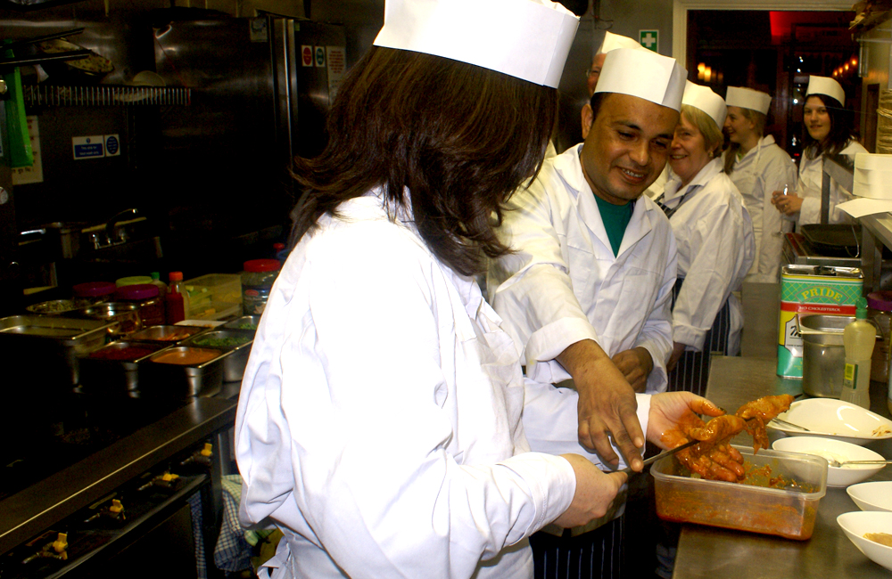 26. Takeaway chef Shad Indian Restaurant SE1