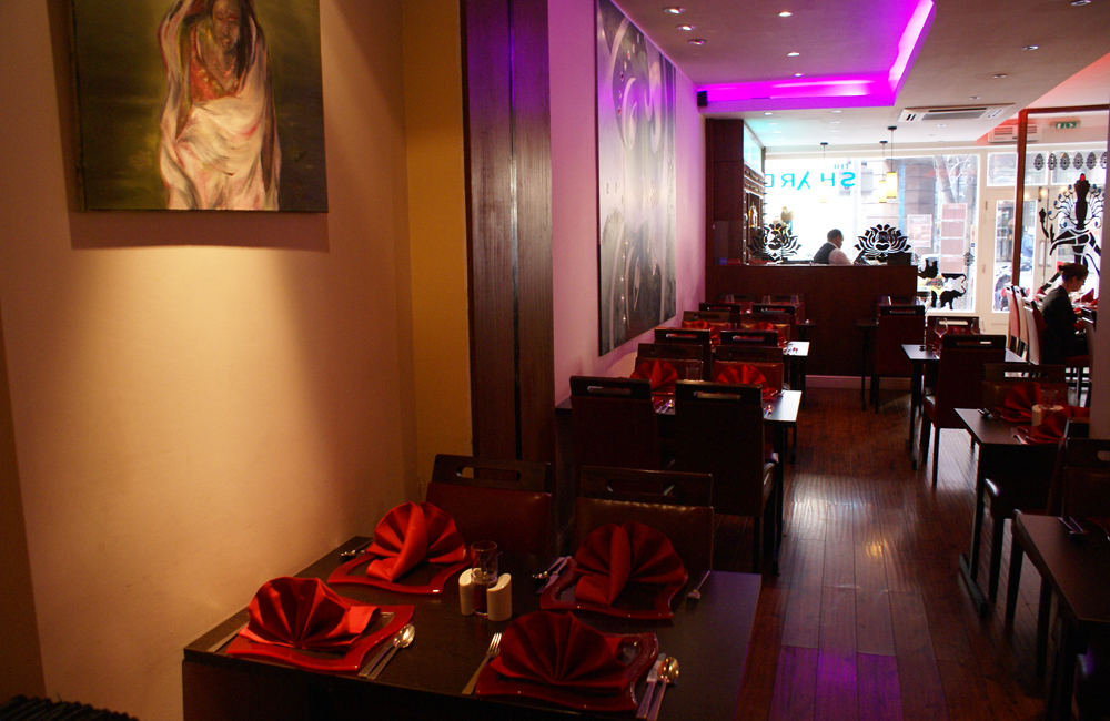 23. Takeaway and restaurant Shad Indian Restaurant SE1