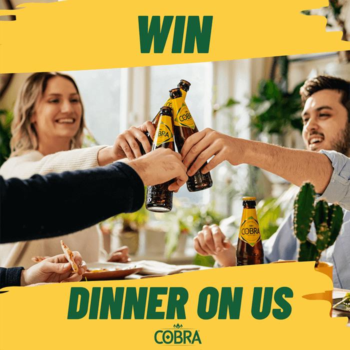 Win dinner on us