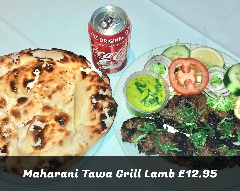 Maharani Tawa Grill Lamb